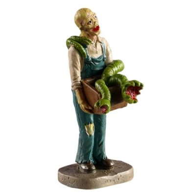 New Lemax Épeurant Frabicant de Jouets Effrayant Spooky Town 02954 Scary Toy Maker Polyresin Halloween 2020