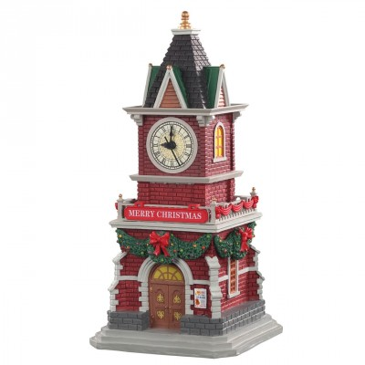 Maison Tour Horloge House Lemax 05679 TAnnebaum Clock Tower  2021