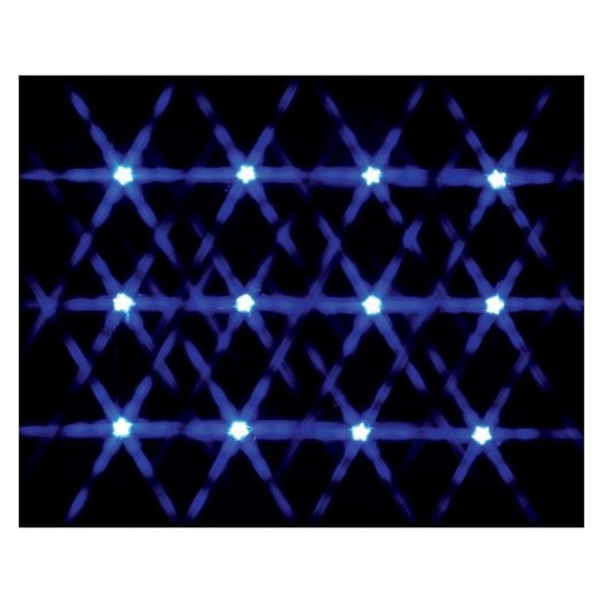 Guirlande de Lumière Bleu 12 Lemax  New 34659 Lighted Star String Blue  2020