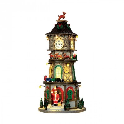 New House Lemax 45735 Christmas Clock Tower 2021