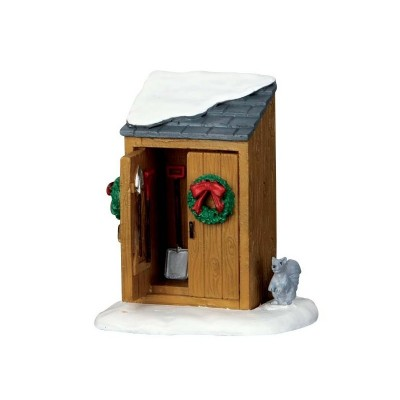 Lemax Figurines 64072 Utility Shed 2018 Cabanon