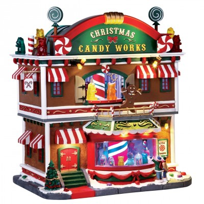 New House Lemax 65164 Christmas Candy Works 2021