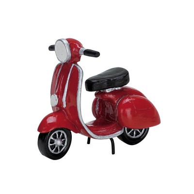 Lemax Figurines 74610 Mobilette Scooter Rouge 2019