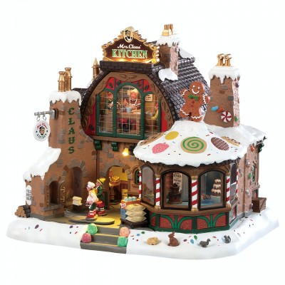 New House Lemax 85314 Mrs Claus Kitchen 2021