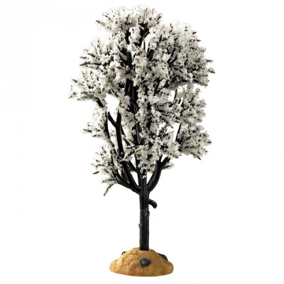 Arbre D'Aubépine Blanche 5 pouces  Lemax Trees New 94540 White HAwthorn Tree 5 INCH New 2021